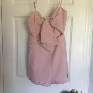 Pink romper size small